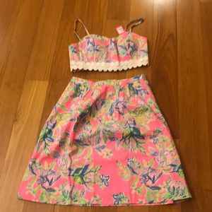 NWT LILLY PULITZER - EVERINA SET - size 8